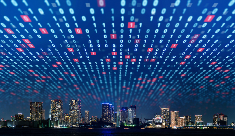 Smart City Connected by Hyperconverged Infrastructure