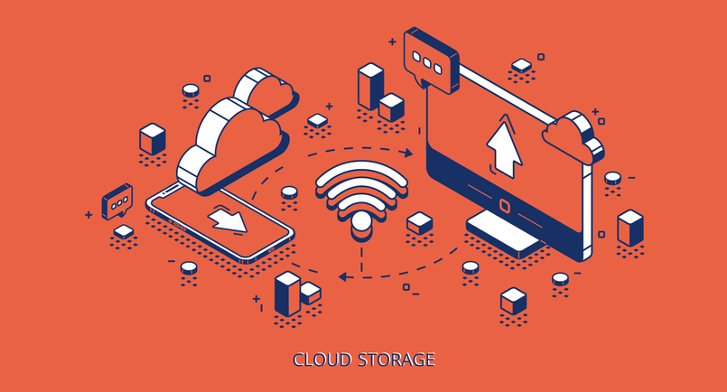 cloud-connected storage