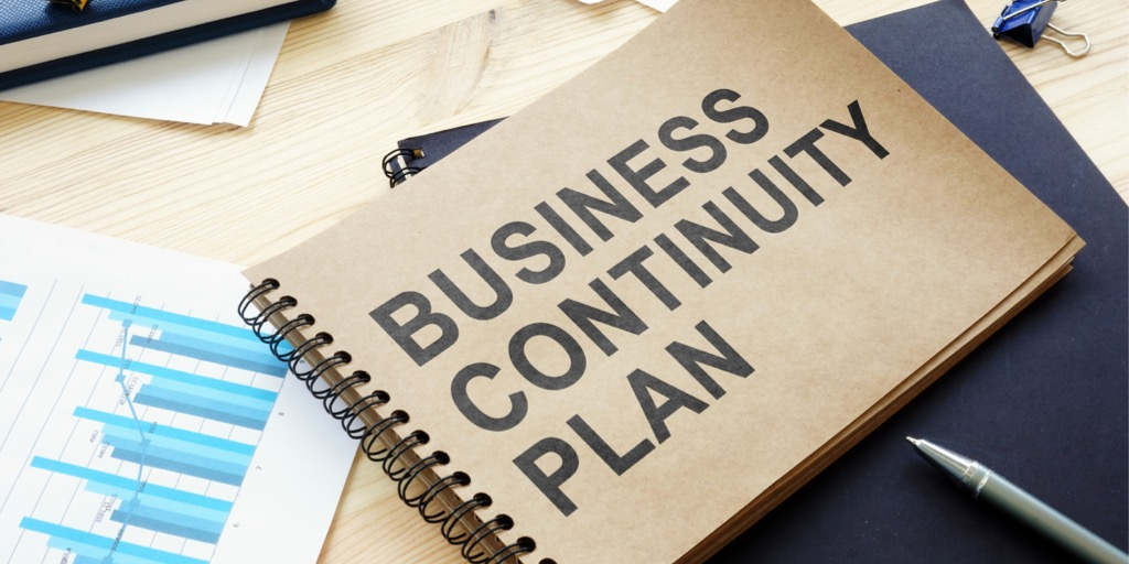 Business continuity plan is on the table.
